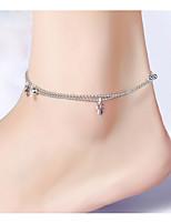 ножной / браслет форма особенность материал материал Показанный цвет женщин количество ювелирных изделий 2.anklet / браслет особенность