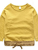 Boy Casual/Daily Solid Blouse,Cotton Spring / Fall