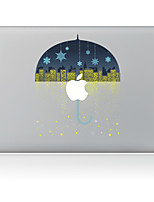 1 pièce Anti-Rayures Noël En Plastique Transparent Décalcomanie Motif PourMacBook Pro 15'' with Retina MacBook Pro 15 '' MacBook Pro 13''
