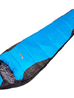 Sleeping Bag Mummy Bag Single 10 Hollow Cotton 1000g 180X30 Hiking / Camping / Traveling / Outdoor / IndoorWaterproof / Breathability /