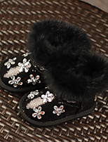 Girl's Boots Others Other Animal Skin Casual Black Green Pink