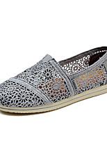 Черный Белый Серый-Женский-ПовседневныйНа плоской подошве-Удобная обувь-Мокасины и Свитер