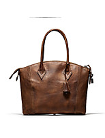 Women Cowhide Casual / Event/Party / Office & Career Tote
