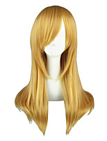 Cosplay Wigs Assassination Classroom Aika S. Granzchesta Golden Medium Anime Cosplay Wigs 60 CM Heat Resistant Fiber Unisex