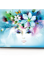 Creative Flower Girl Pattern MacBook Computer Case For MacBook Air11/13 Pro13/15 Pro with Retina13/15 MacBook12