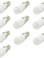2W E14 Luminárias de LED  Duplo-Pin T 1 COB 180 lm Branco Quente / Branco Frio Decorativa V 10 pçs