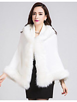 Women's Casual/Daily Simple Regular Cardigan,Solid White Hooded Long Sleeve Acrylic Winter Thick Micro-elastic