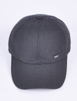 Men's baseball caps middle-aged and old cotton padded cap in winter Thickening earmuffs warm cap Breathable / Comfortable