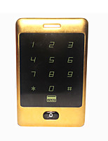 Metal Standalone Touch Keypad Password 125khz RFID Door Access Control