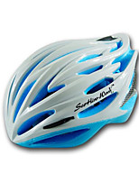 Unisex Mountain  Road  Sports Bike helmet 25 Vents Cycling Cycling  Mountain Cycling  Road Cycling L58-62CM PC  EPSGreen