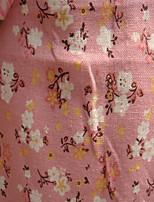 148cm By the Yard/Jacquard/Plain/Cotton /LightBlue/Pink