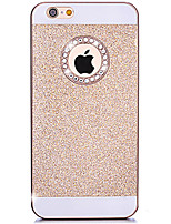 caso do diamante do brilho de Bling tampa com furo de volta para o iphone 5 / 5s (cores sortidas)