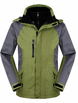 Hiking Softshell Jacket / Ski/Snowboard Jackets / Windbreakers / Tops Men's Waterproof / Thermal / Warm / WindproofSpring / Fall/Autumn /