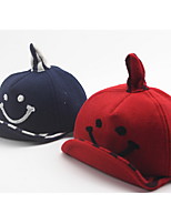 Cartoon teletubbies soft cloth along the baseball caps Smiling face turn along the hip-hop cap Breathable / Comfortable