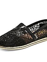 Черный Серебристый Золотистый-Женский-ПовседневныйНа плоской подошве-Удобная обувь-Мокасины и Свитер