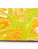 Yellow and Green Gorgeous Stone Pattern MacBook Computer Case For MacBook Air11/13 Pro13/15 Pro with Retina13/15 MacBook12