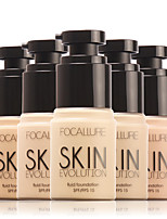FOCALLURE Makeup Base Face Liquid Foundation BB Cream SPF15