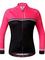 Wosawe® Cycling Jersey Unisex Long Sleeve BikeQuick Dry / Back Pocket / Anti-skidding/Non-Skid/Antiskid / Reflective Strips /