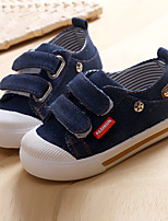 Boy's Sneakers Fall Comfort Canvas Casual Blue