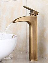 American Standard Centerset Single Handle One Hole in Antique Bronze Bathroom Sink Faucet