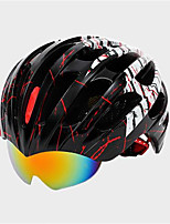 Unisex Mountain Bike helmet 25 Vents Cycling Cycling  Mountain Cycling  Road Cycling One Size PC  EPS