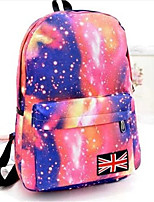 20 L Backpack School Waterproof / Wearable Green / Pink / Black / Blue / Brown