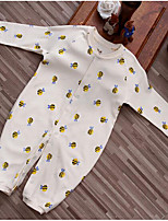 Baby Casual/Daily Animal Print One-Pieces,Cotton Fall Long Sleeve