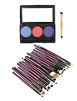 ТениКисти для макияжа влажный Глаза Цветной глянец / Стойкий / Другое China Другое