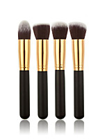 4 Blush Brush / Powder Brush Synthetic Hair Limits bacteria / Portable Wood Face Others