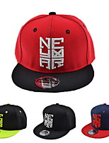 Baseball cap children hip-hop baseball cap Embroidered cap Flat brim hat Breathable / Comfortable  BaseballSports