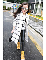 Girl Casual/Daily Solid Pants-Cotton Winter / Fall