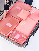 Packing Bag Underwear Bag  Luggage Travel Blothing  Travel Bag 6 Suit  Laundry Bag  (Random Colour)