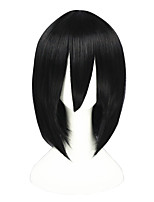 Shingeki no Kyojin-Mikasa Ackerman Black 24inch Cosplay Wig CS-083A