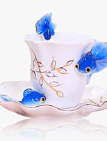 Каждодневные чашки / стаканы / Необычные чашки / стаканы / Кофейные чашки 1 Керамика, -  Высокое качество