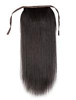 18 polegadas 100% remy grampo de cabelo humano em ponytail alta - tiragem 80g