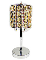 Настольная лампа Тёплый белый / Холодный белый Хрусталь 1 шт.