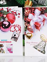 10package véletlenszerű mintát karácsonyi dekoráció ajándék szerepe ofing karácsonyfadísz karácsonyi ajándék kívánság kártya üdvözlőlap