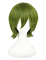 Kuroko No Basketball-Midorima Shintarou 14inch Green Cosplay Wig CS-080A
