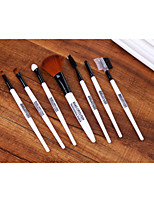 7 Makeup Brushes Set Nylon Limits bacteria / Portable Plastic Face / Eye / Lip Others