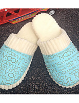 Unisex Slippers & Flip-Flops Winter Others Fur Casual Flat Heel Blue / Pink / Coffee / Beige