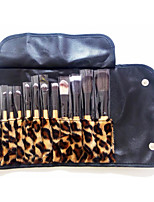 12 Contour Brush / Eyeshadow Brush / Lip Brush / Brow Brush / Eyeliner Brush / Powder Brush / Foundation Brush Goat Hair / Synthetic Hair