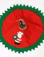 80Cm 1Pc Santa Claus Tree Skirt Christmas Tree Skirt Christmas Tree Decoration Christmas Supplies Christmas Decoration