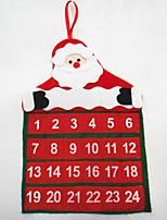 calendrier noël père noël calendrier claus 30 * 40cm