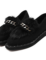 Women's Loafers & Slip-Ons Fall Others Other Animal Skin Casual Black Red Others