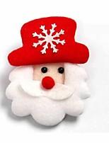 4pcs שלג אקריליק מנורת אווירת קישוט 7colorful תאורת חידוש אור חג המולד