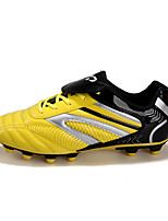 Soccer Shoes Kid's Anti-Slip Anti-Shake/Damping Wearproof Breathable Outdoor Low-Top PU Soccer/Football