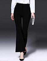 Damen Hose - Retro / Einfach Bootcut Polyester Mikro-elastisch