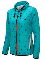 Running Jacket / Sweatshirt Women's Long Sleeve Breathable / Windproof / Lightweight Materials / ComfortableCycling/Bike / Leisure Sports