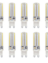3.5 G9 LED Bi-pin Lights T 104 SMD 3014 330-350 lm Warm White / Cool White Waterproof AC110V or AC220V  10 pcs