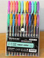 24 Color Color Flash Pen(24PCS)